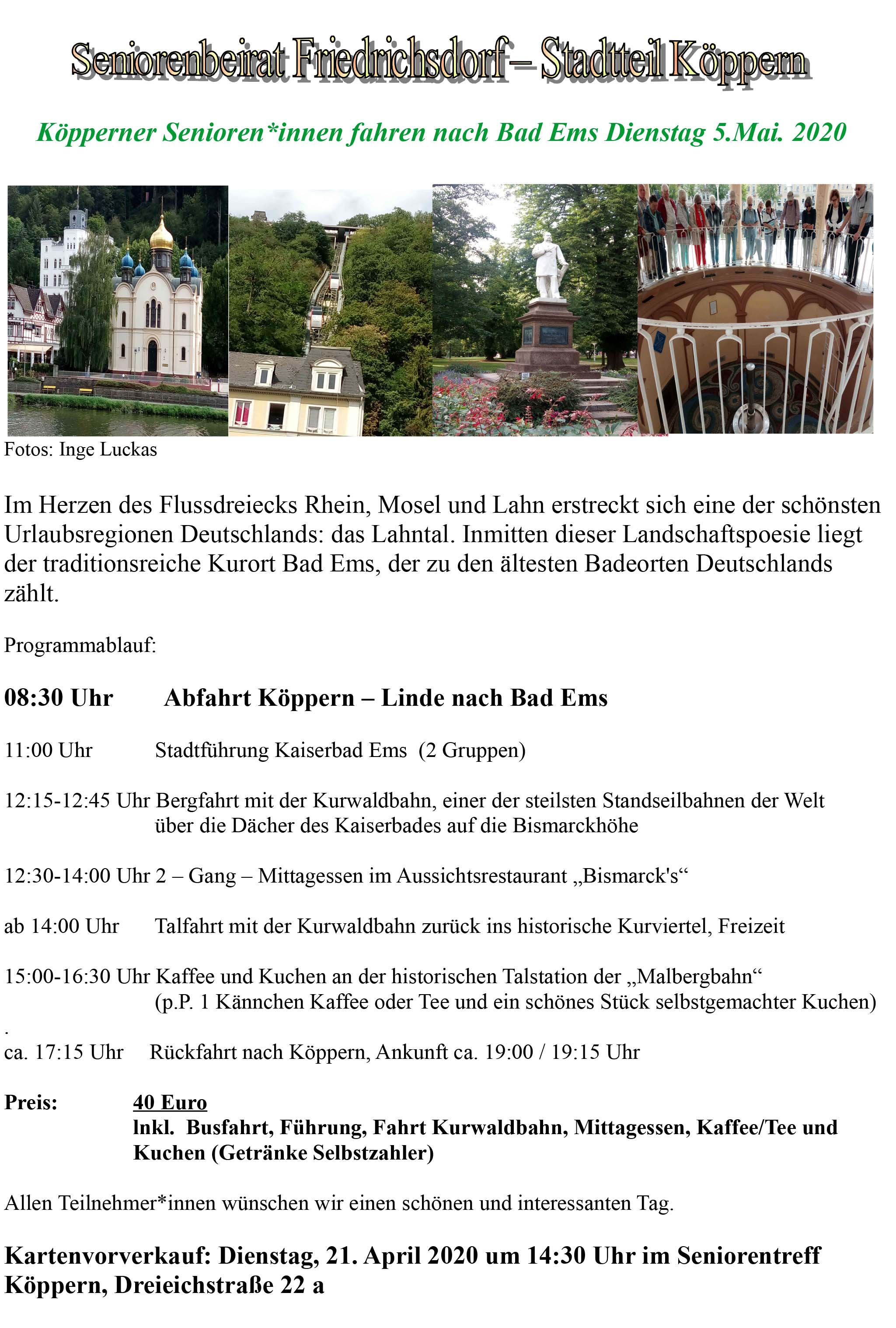 Senioren Köppern Bad Ems