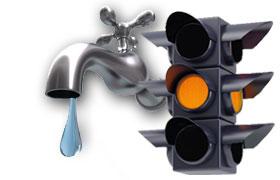 Trinkwasserampel der Stadtwerke Friedrichsdorf auf gelb! Mehr Informationen >>>